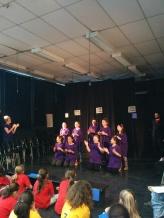 L'équipe Des Découvreurs s'est démarqué avec leur cri d'équipe chanté!